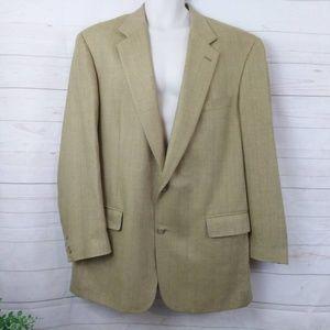 Brooks Brother Vintage Suit Coat Plaid 2 Button 44
